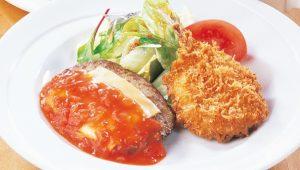 ココス 日替わりランチ火曜日 「牛焼肉&北海道産野菜のコロッケ」