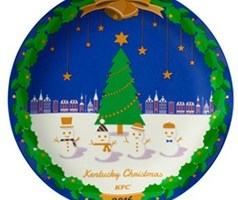ケンタッキー クリスマス2016クリスマス絵皿