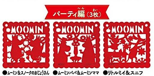 ケンタッキー クリスマス2016ムーミンコースターパーティー編