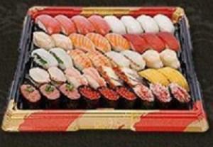 はま寿司のお持ち帰り「贅沢セット4人前」