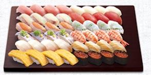 はま寿司の持ち帰り、人気12種セット(4人前)