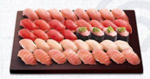 はま寿司の持ち帰り、まぐろづくし(4人前)