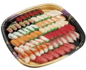 かっぱ寿司「かっぱの贅沢盛り(6人前)」