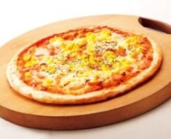 ガストのテイクアウト「マヨコーンピザ」