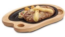 びっくりドンキー「チーズバーグステーキ」