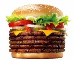 バーガーキングいい肉の日限定「ビーフパティ5枚のワッパーチーズ」2018年11月29日