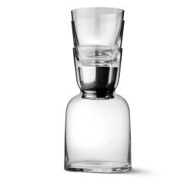 ww carafe glass stack