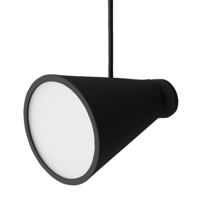 bollard lamp black hang side1