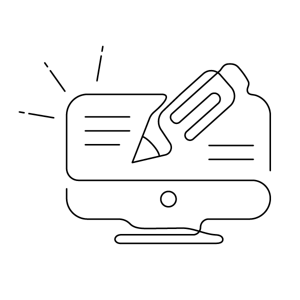 trois ecrans conception web exemple