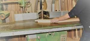 Usinage bois sur toupie à la volée