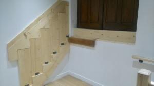 Escalier pliant innovant