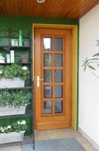 Porte de jardin bois