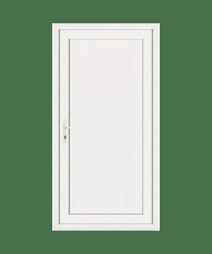 PORTES DE SERVICE PVC PLEINES