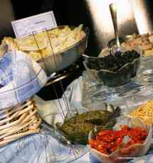 Pesto Pasta Specialty Station by Menu Maker Catering, Nashville Tennessee