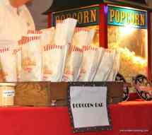 Popcorn Bar For Movie Themed Catered Event by Menu Maker Catering, Nashville Tennessee