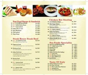 Al Habib Do Darya Karachi BBQ Menu Prices 1