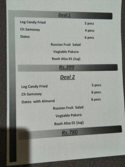 The Real Taste Restaurant D Ground Faisalabad Deals