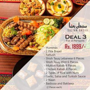 Sultan Basha Restaurant Deals 3