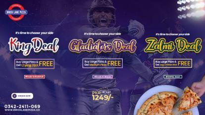 Bricklane Pizza Deals
