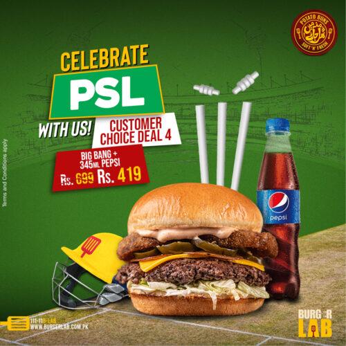 Burger Lab PSL Deals