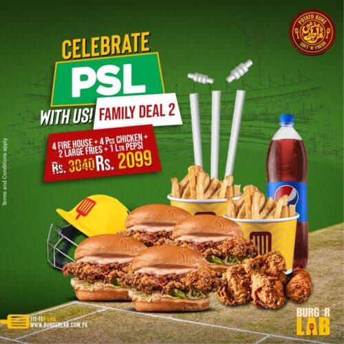 Burger Lab PSL Family Deal