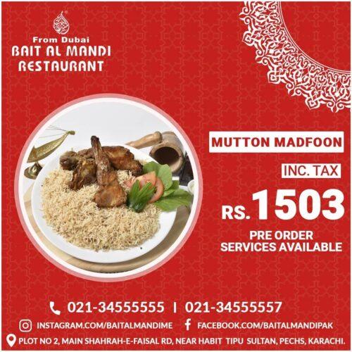 Bait Al Mandi specialty