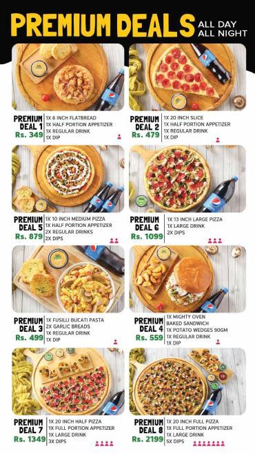 Broadway Pizza Lahore Deals