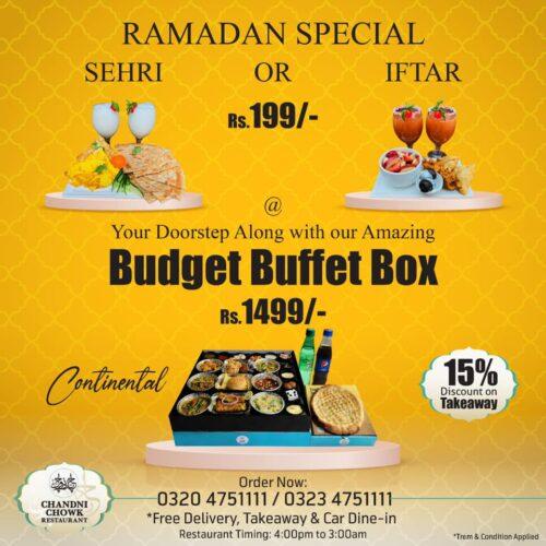 Chandni chwok Iftar box 1