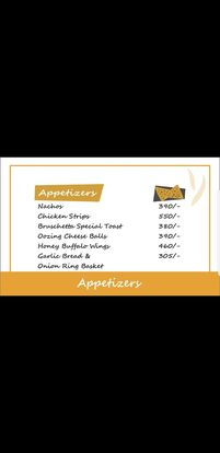 Food Punch Menu Prices Appitizers