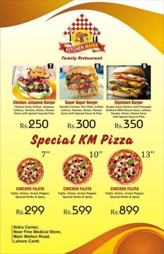 Kitchen Mania Menu Prices 4