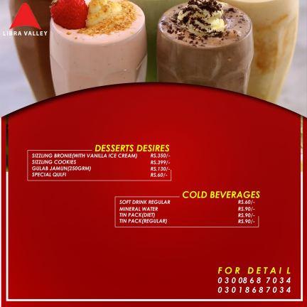 Libra Valley Restaurant Desserts