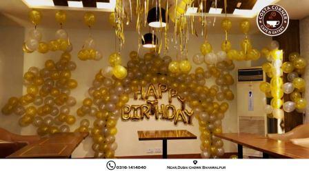 The Roosters Costa Corner Bahawalpur Birthday