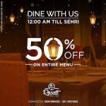 Rosati Bistro Ramadan Deals