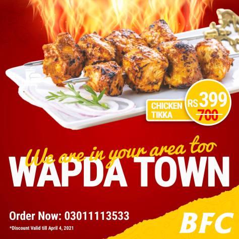 BFC Wapda Town Deal 1