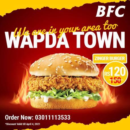 BFC Wapda Town Deals