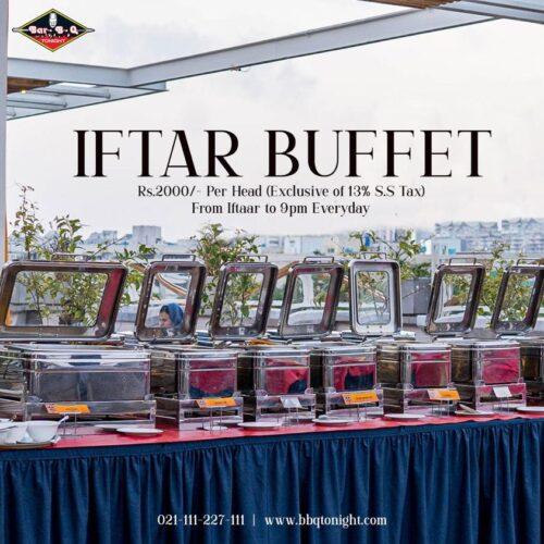 Bar.B.Q Tonight Iftar Buffet