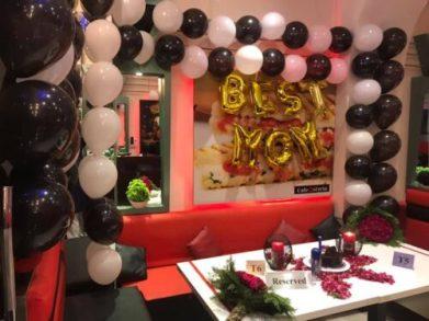 Cafe Ostyria Mall Road Lahore Celebration