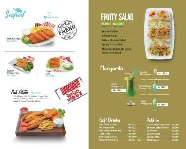 Saffron Foodies Commercial Market Menu