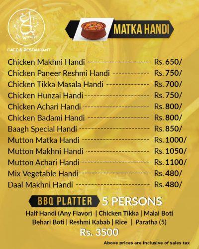 Baagh Cafe And Restaurant Hyderabad Handi