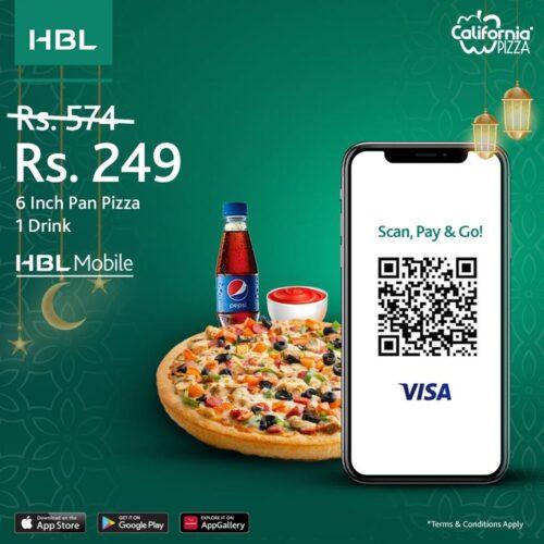 California Pizza HBL Single Deal 2021