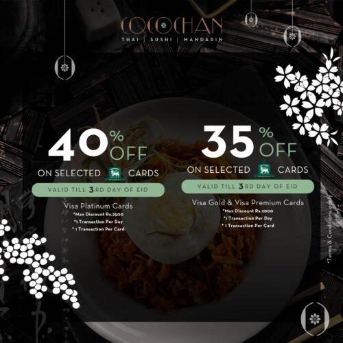 Cocochan Iftar Discount