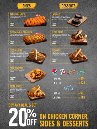 Dominos Menu Prices