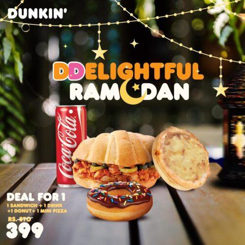 Dunkin Donuts Iftar Deals