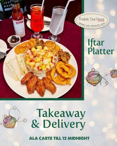 English Tea House Iftar Deals