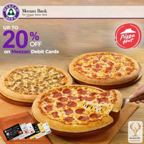 Pizza Hut Meezan Debit Card Deals