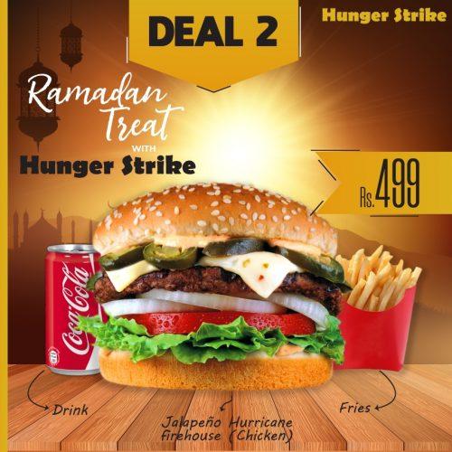 Hunger Strike Lahore Deal 1