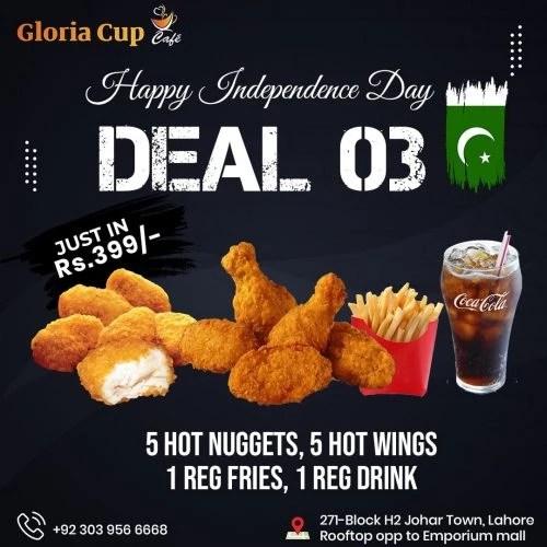 gloria cup dealss