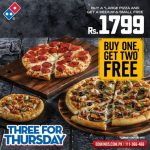 Three For Thursday Deal