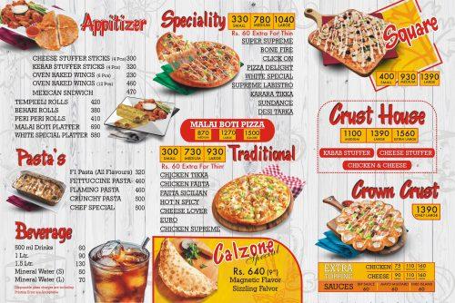 Whites Castle menu