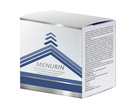 Menurin (Менурин) - комплексное средство от простатита